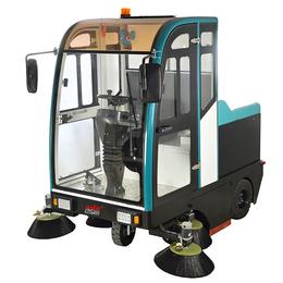 园区清洁用驾驶式扫地机