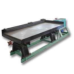 选矿摇床床面7层耐磨玻璃纤维耐磨性好沙槽水槽开孔均匀不沉料