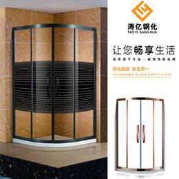 钢化玻璃浴室隔断家用缩略图