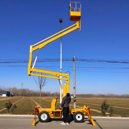 12米曲臂升降机 龙海市广告安装升降车 12米曲臂升降平台