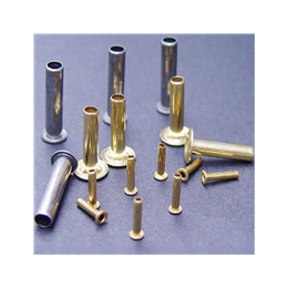 厂家供应各种规格黄铜空心铆钉  管状圆头铆钉  鸡眼铆钉