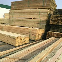 宝山加工樟子松户外古建防腐木.碳化木板材价格优惠