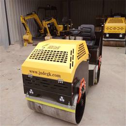 新配置座驾一吨压路机 双轮小型压路机振动力强大
