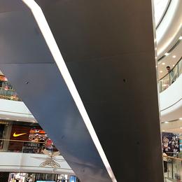 定制万达广场电梯包边包底铝单板 包柱铝单板