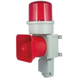 TLEDL铸铝型重负荷LED长亮闪亮发光船用器语音声光警报器缩略图