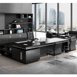 北京老板台亚博国际版 大班桌稳重老板台出售 办公家具以旧换新