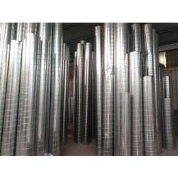 顺兴通风设备绿色环保-白铁皮螺旋风管厂家