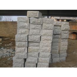 河南芝麻灰花岗岩文化石 铺路石 轮胎磨损实验石