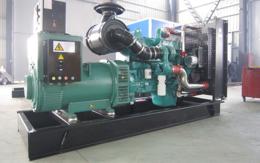 陕西榆林200KW康明斯天然气发电机组价格 燃气发电并机并网