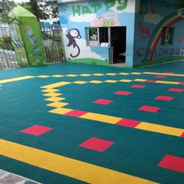 悬浮地板 幼儿园地板 塑胶跑道施工 篮球场施工 拼装地板