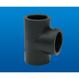 厂家PE三通圣大管业PE给水管管件DN20-1000三通接头