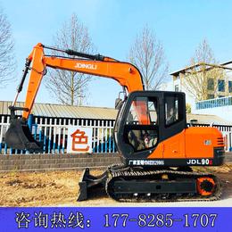 9吨的挖掘机 金鼎立JDL90E履带式挖掘机 农用抓木机
