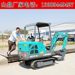 市场果园微型挖土坑小沟机家用农用小型挖掘机