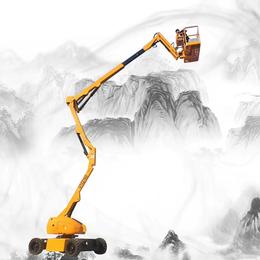 16米曲臂升降机 湖北升降作业车报价 16米折臂升降平台供应