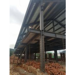 钢结构厂,聊城钢结构,众鼎立信钢结构斜屋面图纸图片