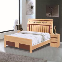 蒂依匠定制 全實木雙人床縮略圖