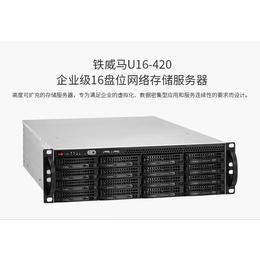 铁威马U16-420 平安国际充值级16盘位网络存储服务器