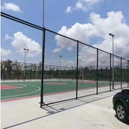 篮球场铁丝网球场围栏足球护栏网勾花网围栏网球场围网