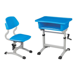 塑料手摇式起落课桌椅缩略图