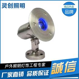 河北石家庄黄光LED水底灯可信赖的厂家灵创照明