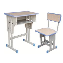 HL-A1934注塑包边双柱课桌椅