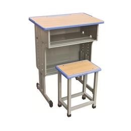 HL-A1938注塑包边双抽课桌椅