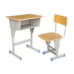 HL-A1945多层板单层单柱课桌椅