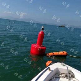 高分子聚乙烯警示浮筒 海洋牧场航道浮标批发