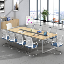 北京板式会议桌销售 可折叠浅色系列会议桌出售办公家具销售