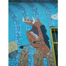 艺术陶瓷背景墙_申达陶瓷厂(在线咨询)_壁画