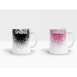 定制广告变色杯陶瓷变色杯批发价格广告变色陶瓷杯批发报价