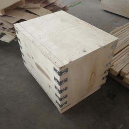 木箱生产厂家定做出口专用木箱质优价廉 山东木箱厂生产