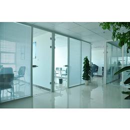中空百叶玻璃隔断 双玻璃百叶隔断 内置百叶玻璃隔断