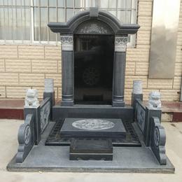 大理石花岗岩土葬合葬墓碑刻字石碑
