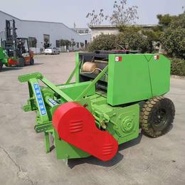 粉碎打捆机-牧源机械制造厂家-秸秆稻草粉碎打捆机价格