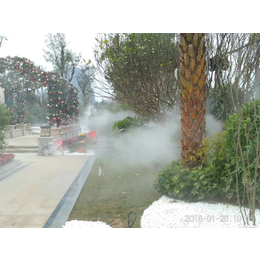户外喷雾造景ptpt9大奖娱乐 小区楼盘喷雾造景系统