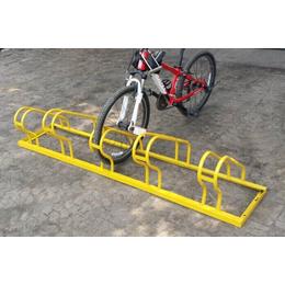 供应高低自行车架卡位式自行车停放架不锈钢自行车电动停放架
