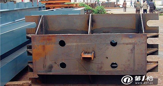 重钢钢柱加工出口 组立焊接钢结构加工贸易-三维钢构
