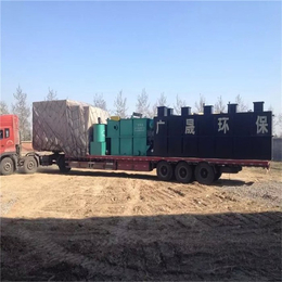 食品厂污水处理设备_食品厂污水处理设备单位_诸城广晟环保