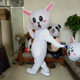 卡通人偶服装赣州科尼卡通人偶服饰厂家直销行走可妮兔K002