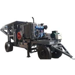 移动破碎机-金淼机械优质商家(图)-移动破碎机厂