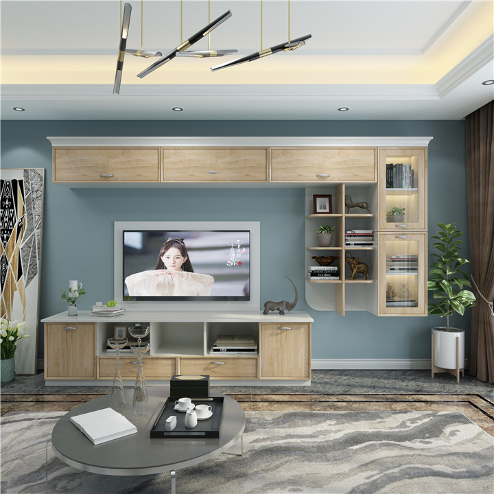 江西定做木质现代简约大气客厅柜