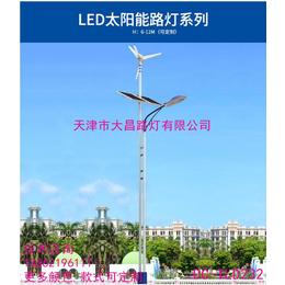 厂家定制家用感应LED太阳能户外风力庭院路灯天津大昌缩略图