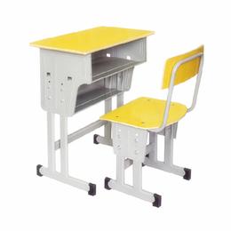 江西儿童学习桌 小学生辅导培训班课桌椅 可升降学生桌椅批发缩略图