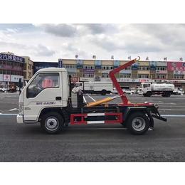 车厢可卸式垃圾车_拉臂式垃圾车-配合2方3方垃圾箱清运垃圾车缩略图