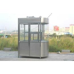 停车场物业用材 不锈钢岗亭供应