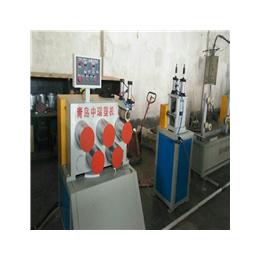 中瑞PP夹心打包带生产线单螺杆片材挤出机设备厂家