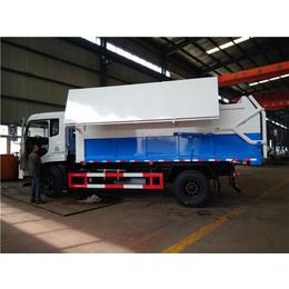 生产定制东风牌10吨含水污泥运输车