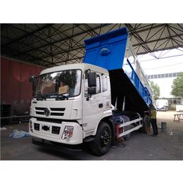 滴水不漏运输含水污泥12吨自卸车报价