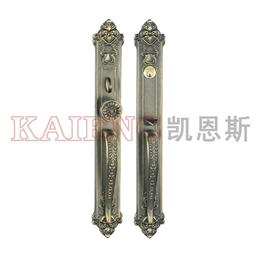 广东双开大门锁 别墅大门锁 LJ9309-S纯铜美式大门锁